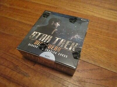 Star Trek Discovery Season One Trading Cards Factory Sealed Box with Promo P1  1