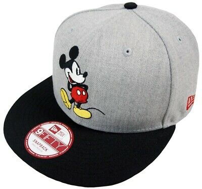 New Era Mickey Mouse Cl Gris Gorra Snapback M L 9fifty Special Limitado  Edition 275c2acf612