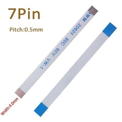 7-Pin 7P FFC/FPC Flexible Flat Cable Wire 20624 80C 60V VW-1 W:4mm Pitch 0.5mm