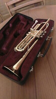 Besson 600 Trumpet (made in England) With Case And Mouthpiece