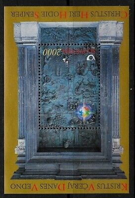 SLOVENIA Sc 399 NH issue of 2000 - CHRISTMAS