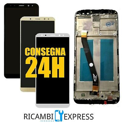 Lcd Display Huawei Mate 10 Lite Rne-L21 Frame Touch Screen Rne-L01 Bianco Nero