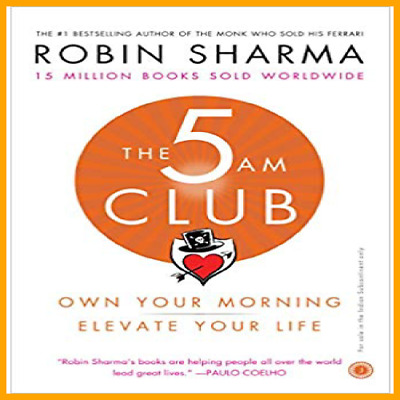 The 5am Club: Change Your Morning.. by Robin Sharma +FREE GIFT