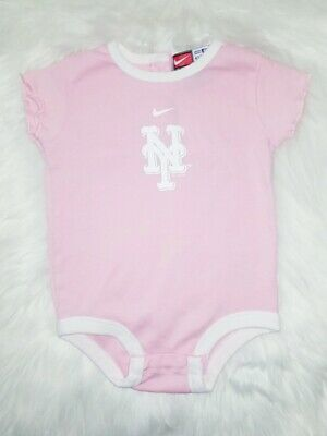 d76a20348f5 Baby girl nike NY Mets 3-6 months team genuine merchandise EUC New York Mets