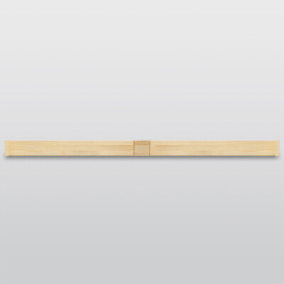 Jackson's Museum 150cm Centre Bar (15x58mm) For 35mm Deep Bars With Notch