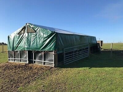 JOHN HARVEY PIG Tent 16ft x 32 ft : 7ft to the eaves with