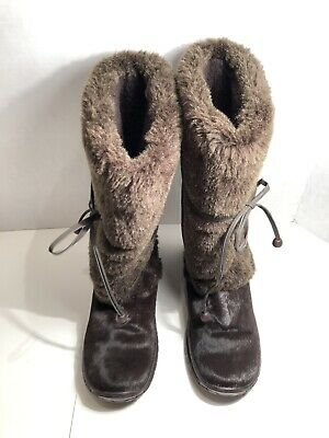 dab66a73df6 Steve Madden Slopes Womens Fashion Winter Pony Upper Boots (Size 8.5)  BEAUTIFUL
