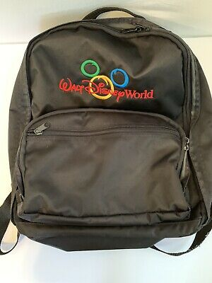 f161916e04ac WALT DISNEY WORLD Backpack Mickey Mouse Theme Park Exclusive Vintage ...