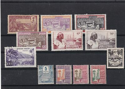 guadaloupe stamps ref 16632