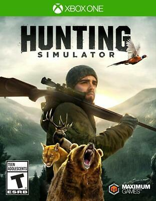 Hunting Simulator Xbox One Brand New Sealed