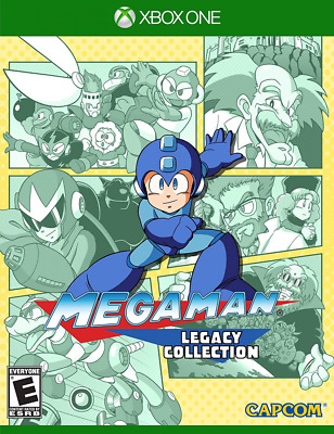 Mega man Legacy Collection Xbox One Brand New Sealed