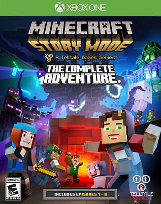 Minecraft Story Mode The Complete Adventure Xbox One Brand New Sealed