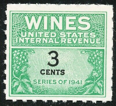 Dr Jim Stamps Us Scott Re113 3C Wines Unused Nh No Reserve Free Shipping