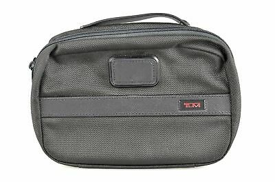 TUMI 'Alpha 2' Black Nylon Split Travel Kit - 22193D2