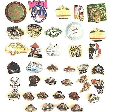 Cabbage Patch Kids Pins, Pin Backs, Vintage 37 Total, Some Multiples
