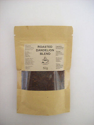 2 x NATURAL ROASTED DANDELION ROOT TEA DELICIOUS COFFEE SUBSTITUTE CAFFEINE FREE