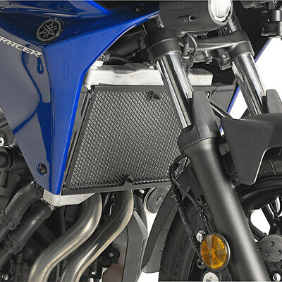 Stainless Steel Black Radiator Guard Yamaha MT 07 Tracer 2016-2017