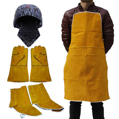 Welding Protection Gear - Welding Caps, Gloves, Leather Welding Apron Covers