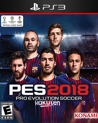 Pro Evolution Soccer 2018 PS3 - Download