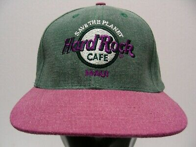 680493a87bd Hard Rock Cafe - Maui - One Size Adjustable Snapback Ball Cap Hat!