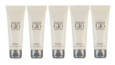 d52ef340afe3 5 Piece Lot x Giorgio Armani Acqua Di Gio After Shave Balm Men 2.5 Oz