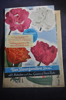 1951 *NEAR MINT* Growers of Dutch Bulbs Van Bourgondien Catalog