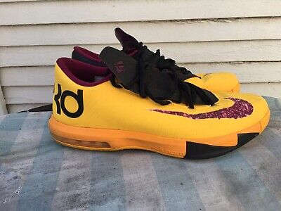 a7d50a6ae549 NIKE KD 6 Peanut Butter Jelly Size 11 -  40.00