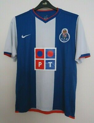 Fc Porto Vintage Home Shirt By Nike  Seasons 2006/07 Size Medium