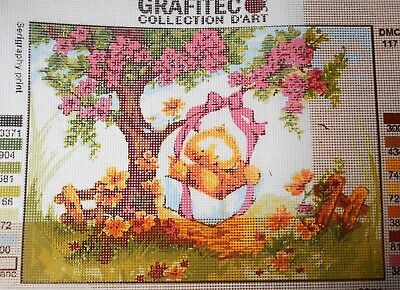 DUCKLING SWING - Tapestry/Needlepoint to Stitch (NEW) by GRAFITEC