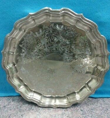 Ranleigh Quality Silverware Serving Tray Vintage