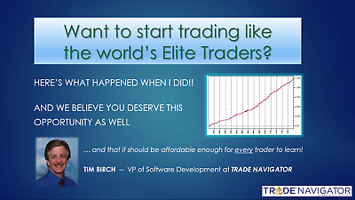 Learn how to trade like the World's Elite Traders -- Introductory Session