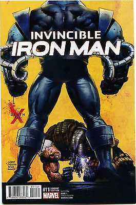 Invincible Iron Man 11 Variant Edition Death of X 1st Print Marvel Comics VF-NM