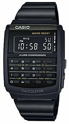 New CASIO STANDARD Digital Watch CA-506B-1AJF Multifunction Black From Japan