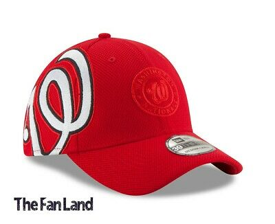 New MLB Washington Nationals Mens Logo Twist New Era Flex Fit Hat Cap