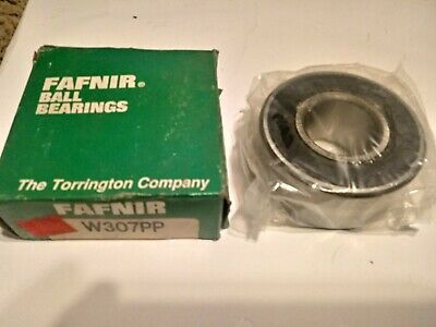 "NEW FAFNIR 206KG BALL BEARING WITH SNAP RING 1.178/"" ID X 2.439/"" OD x .631/""W"