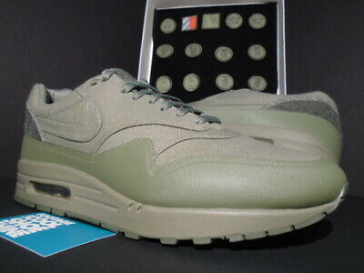 NIKE AIR MAX 1 V Sp Patch Steel Green Army Olive Patches Og Atmos 704901 300 11