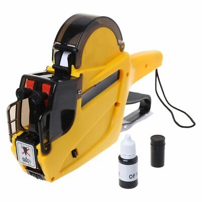 MX-6602 10 Digits 2 Lines Price Tag Marker Pricing Gun Price Labeller For Store