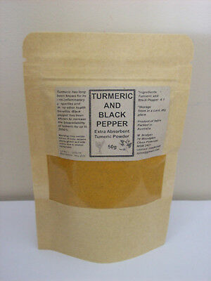 Tumeric Powder And Black Pepper Extra Absorbent Turmeric Powder Curcumin
