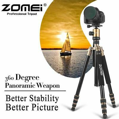 ZOMEi Z818 Travel Tripod Portable Aluminum Monopod&QR Plate For Canon Sony DSLR
