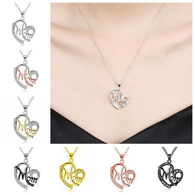 Mothers day gifts For Mum Mummy Mom Mother Birthday Anniversary Necklace Present