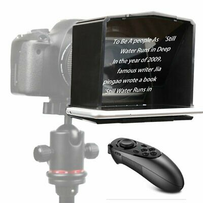 Bestview T1 Phone Teleprompter + Remote For Camera Interview Speech Video