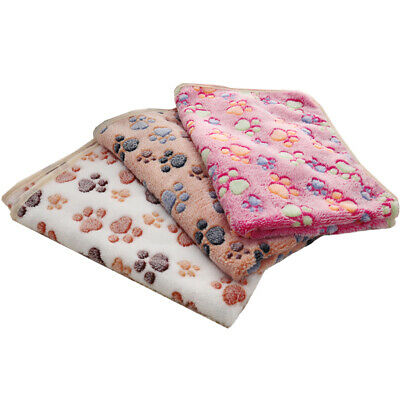 Extra Large Soft Cosy Warm Fleece Pet Dog Cat Blanket Throw Cover Bed Cushion UK