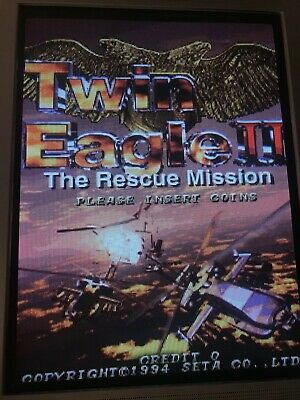 Twin Eagle 2 ,  Jamma Pcb , Original Seta. Working 100%