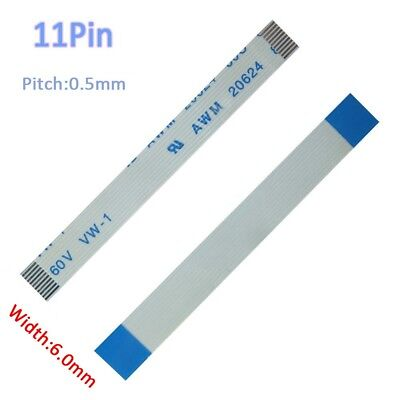 Pitch 0.5mm 11P FFC FPC Flexible Flat Cable 50mm-3000mm Forward/Reverse W: 6mm