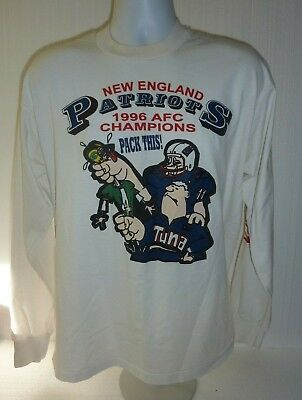 9f046bfebae Vintage New England Patriots 1996 AFC Champions Pack This Long Sleeve Shirt
