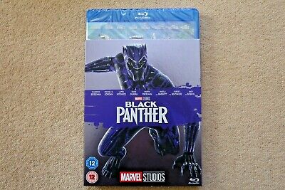 Blu-Ray Marvel Black Panther  ( With Limited Edition Slipsleeve ) New