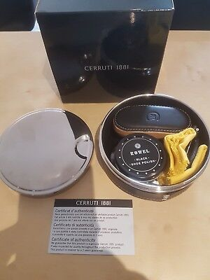 cerruti designer 4 piece shoe care kit. genuine product