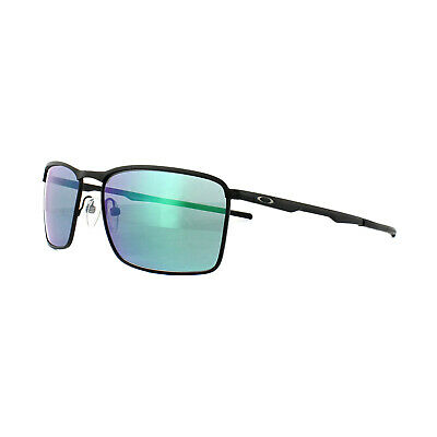 36bd95b46ca NEW OAKLEY CONDUCTOR 6 OO4106-02 Lead Metal Sunglasses Black Iridium ...