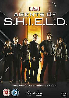 Marvel Agents Of Shield Complete First Season ( 1 )  New Sealed Genuine Uk Dvd
