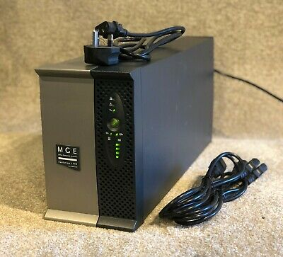 MGE Evolution 650VA Tower UPS - New cells - 12m RTB Warranty